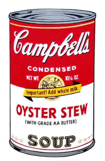 Andy Warhol - Campbell's Soup: Oyster Stew