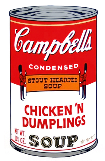 Andy Warhol - Campbell's Soup: Chicken 'n Dumplings