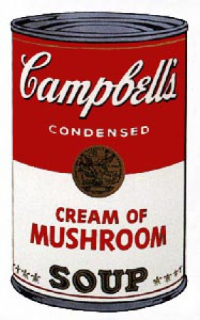Andy Warhol - Campbell's Soup: Cream of Mushroom