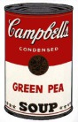 Andy Warhol - Campbell's Soup: Green Pea