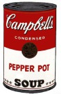 Andy Warhol - Campbell's Soup: Pepper Pot