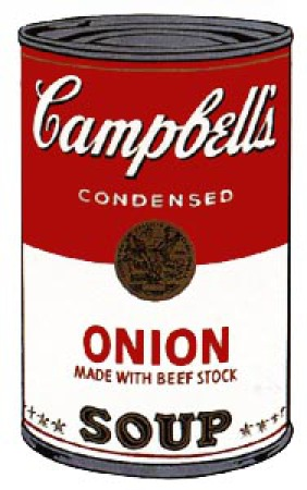 Andy Warhol - Campbell's Soup: Onion