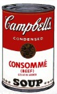 Andy Warhol - Campbell's Soup: Consommé