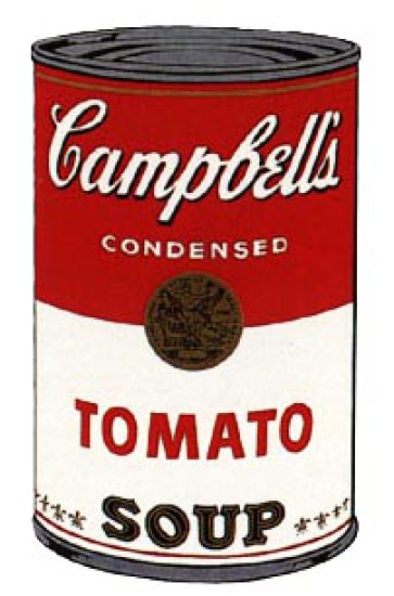 Andy Warhol - Campbell's Soup: Tomato