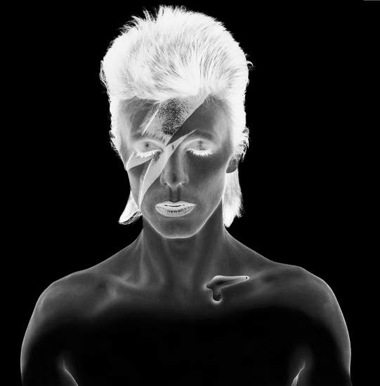 Brian Duffy - David Bowie, Aladdin Sane negative