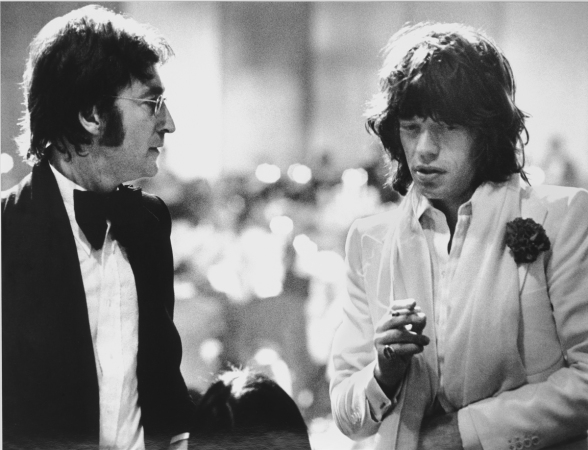 Ron Galella - Lennon and Jagger 120 x 145 | AP