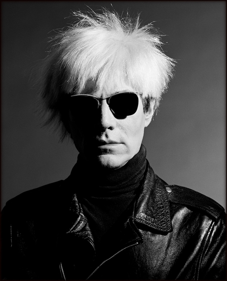 Greg Gorman - Andy Warhol Sunglasses, LA 1986