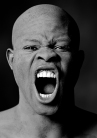 Greg Gorman - Djimon Screaming, LA 1991