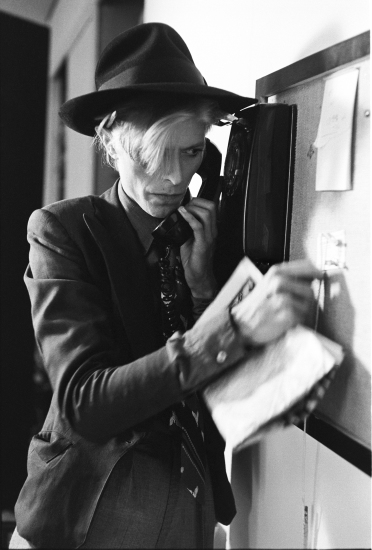 Steve Schapiro - Bowie Man Who fell to Earth, New Mexico 1975