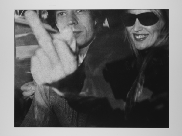 Ron Galella - Mick Jagger and Jerry Hall