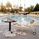 Terry O'Neill - Faye Dunaway, Beverly Hills Hotel, 1977 (60