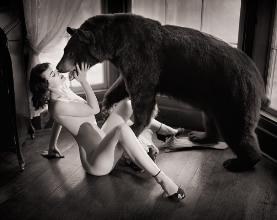 George Holz - Brittany with Bear