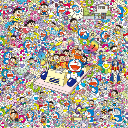 Takashi Murakami - On an Endless Journey on a Time Machine with the Author Fujiko F.Fujio!