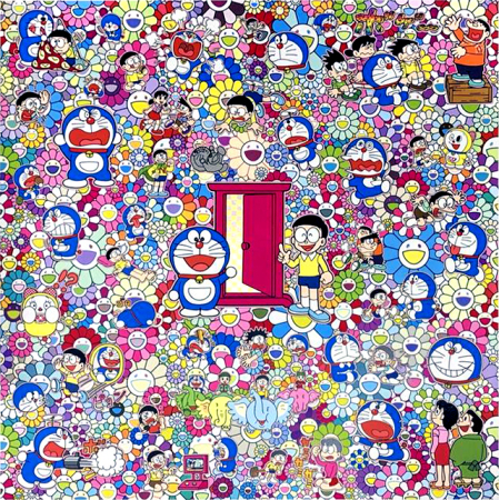 Takashi Murakami - Many things wait beyond anywhere door (dokodemo door)