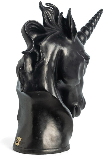 Andreas Wargenbrant - Unicorn (black)