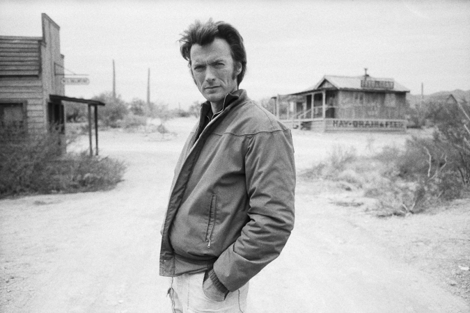 "Terry O'Neill - Clint Eastwood on the set of 'Joe Kidd', 1972 (16"" x 20"")"