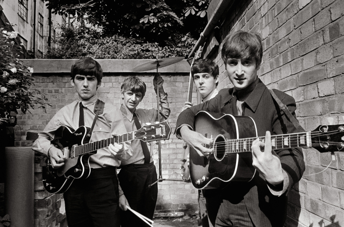 "Terry O'Neill - The Beatles At Abbey Road, 1963 (20"" x 30"")"