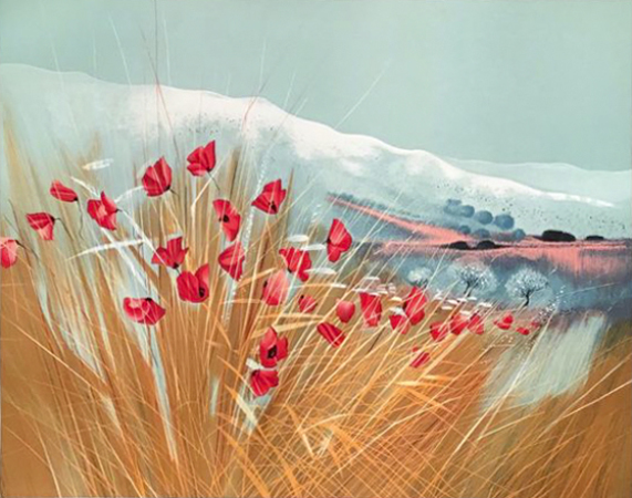 Gilbert Michaud - Les coquelicots