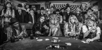 David Yarrow - Dead mans hand