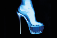 Tyler Shields - X-ray high heel