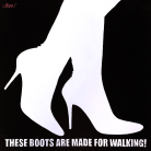 Petter Thoen - These boots are made for walking - black (maleri)