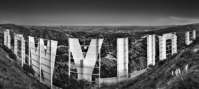 Morten Qvale - Hollywood black and white 100 x 45 | edt 25