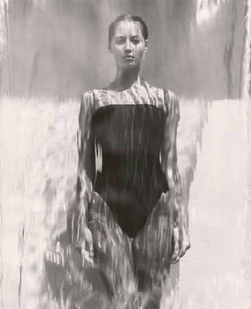 Herb Ritts-Christy - Waterfall, Los Angeles 1988