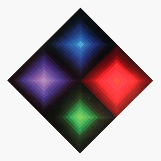 Victor Vasarely - Arcturus-II (Folklore planetaire)