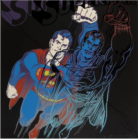 Andy Warhol - Superman