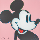 Andy Warhol - Mickey Mouse (Pink)