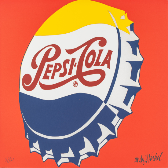 Andy Warhol - Pepsi-Cola (red)