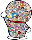 Takashi Murakami - Doraemon in the field of flowers (Takashi Murakami x Doraemon)
