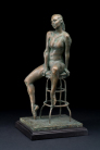 Kirsten Kokkin - Dancer on high chair I