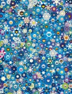 Takashi Murakami - An Homage to IKB, 1957 F