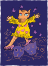 Bjarne Melgaard - Dogwalk 2020 (purple) (large)