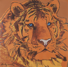 Andy Warhol - Siberian tiger (orange)