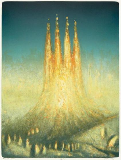Oppdatert Vebjørn Sand - Katedralen, kunst til salgs i nettgalleriet VD-92