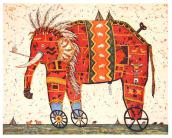 Jochen Kublik - My little big red indian elephant