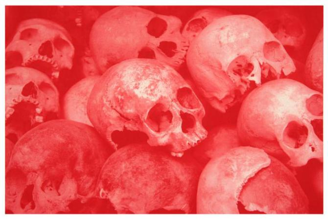 Morten Viskum - Killing Fields III, red
