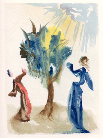 Salvador Dali - Purgatory - The Tree of Penitenc