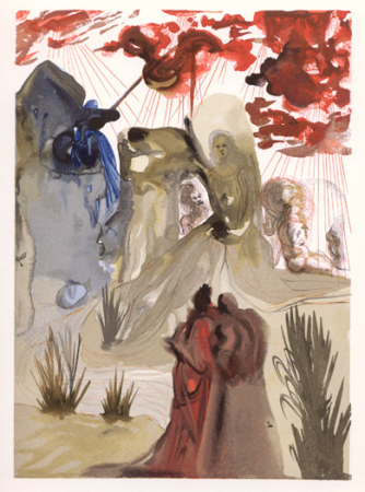 Salvador Dali - Purgatory - The Divine Forest