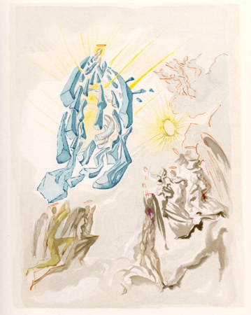 Salvador Dali - Paradise - Dante Recovers His Sight