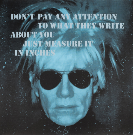 Unni Askeland - BIG BIG BIG | Andy Warhol