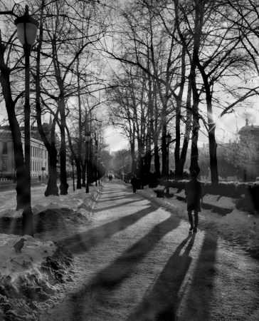 Isidoros Prinos Winter shadows