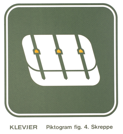 Thomas Klevjer - Piktogram fig. 4. Skreppe | Håndkolorert