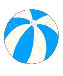 Andreas Lundberg - Beachball Light blue