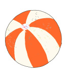 Andreas Lundberg - Beachball Orange