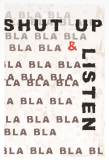 Andreas Lundberg - The bla bla-series - Shut up & listen
