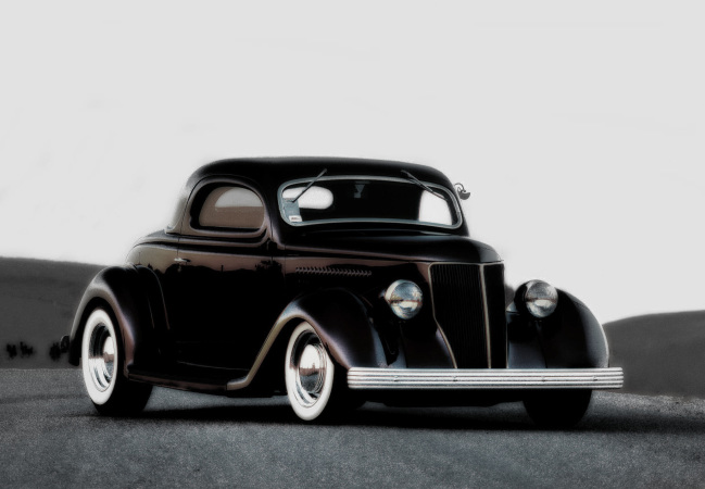 Rune Baashus - 136 Ford Coupe by Brizio