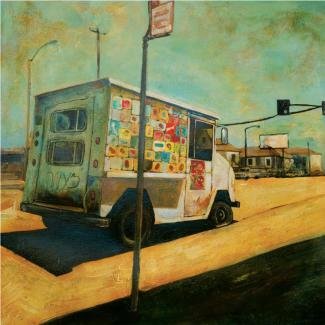 Erik Ødegaard - Ghettoscapes: Ice Cream Truck